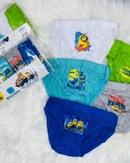 Pack de 5 calzoncillos de los mininos, incluye 5 piezas en cada set