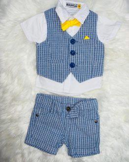 Conjunto con una pajarota amarilla, perfecto y elegante para una ocasión especial, se puede adquirir a través de babydaiashop