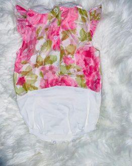 Ranita floral para niña, precioso para el verano muy fresquito para que el bebe no pase calor, puede adquirirlo en babydaiashop