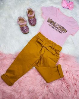 conjunto Moschino, ropa Moschino, ropa niña, ropa para niña, textil infantil, ropa bonita, babydaiashop