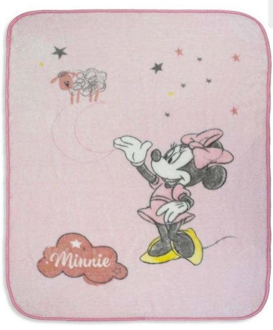 manta disney bebe de terciopelo medidas 110x140 babydaiashop venta online