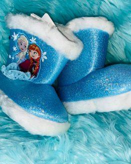 Zapatillas Frozen de estar por casa, con suela blanda anti deslizante, con capa en el talón. Tallas desde el 23/24 hasta 33/34 Disponibles también para niño. babydaiashop . artículos para bebes y niños . compra online.