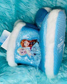 Zapatillas Frozen de estar por casa, con suela blanda anti deslizante, con capa en el talón. Tallas desde el 23/24 hasta 33/34 Disponibles también para niño. artículos para bebes y niños. compra online . babydaiashop .