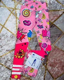 Legging Boom Push-up rosa , con estampado precioso , reafirma y moldea la figura de tu cuerpo. Es de lycra. Tallas S/M/L/XL BABYDAIASHOP . COMPRA ONLINE . ARTICULOS PARA MUJER Y NIÑOS.