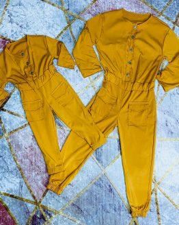Mono rosa para mama e hija , con cierre de botones , manga larga o corta se puede ajustar a la medida deseada , bolsillos y puños. Tallas infantiles desde 1/2 hasta 11/12 Tallas adulto : S/M (34/36) M/L (38/40). Disponible en 3 colores. BABYDAIASHOP . COMPRA ONLINE . ARTICULOS PARA MUJER Y NIÑOS . ROPA FAMILIAR . ROPA MAMA E HIJA.