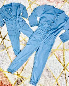 Mono rosa para mama e hija , con cierre de botones , manga larga o corta se puede ajustar a la medida deseada , bolsillos y puños. Tallas infantiles desde 1/2 hasta 11/12 Tallas adulto : S/M (34/36) M/L (38/40). Disponible en 3 colores. BABYDAIASHOP . COMPRA ONLINE . ARTICULOS PARA MUJER Y NIÑOS . ROPA FAMILIAR . ROPA MAMA E HIJA. ROPA IGUALES.